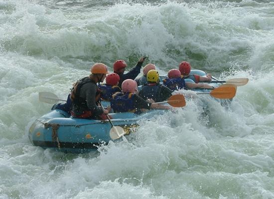 Adventure Honeymoons - White Water Rafting