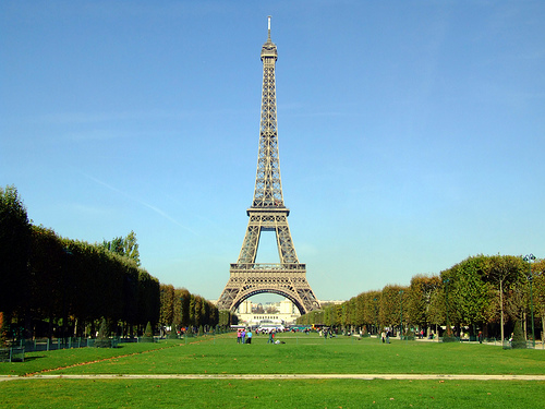Top 5 Romantic Getaways in Europe - Eiffel Tower