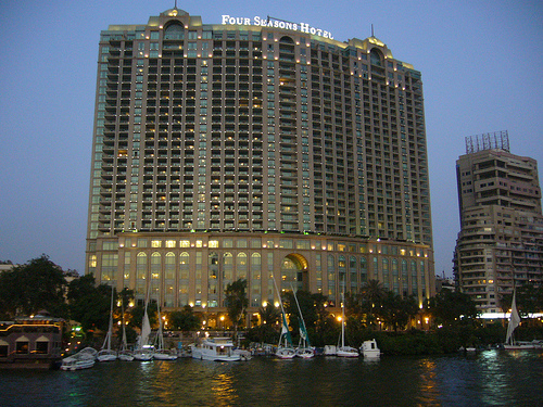 Egypt Tours - Cairo's 3 Best Luxury Hotels for Honeymooning in Egypt - Four Season Cairo at Nile Plaza
