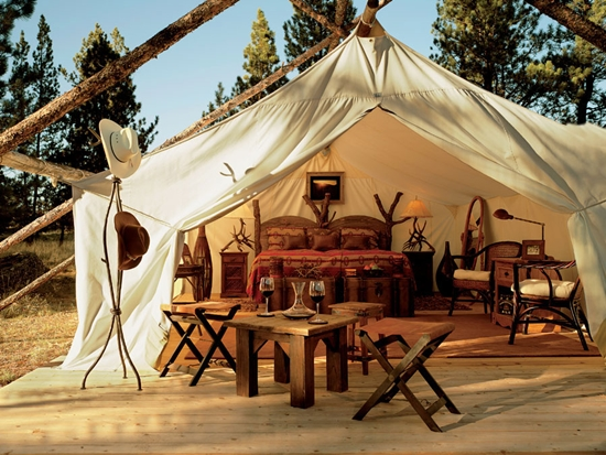 5 Luxury Hotel Resorts for a Romantic Getaway 6 - Paws Up, Montana